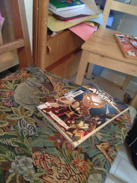 Book on Chair Avatar