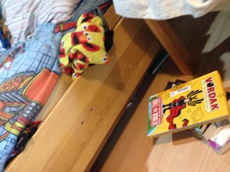 Books Between Beds