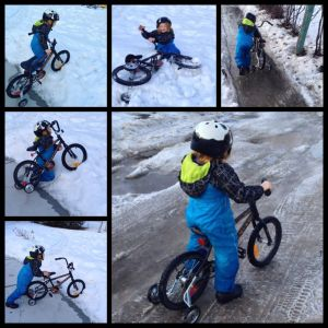 UU7O-Biking in Snow
