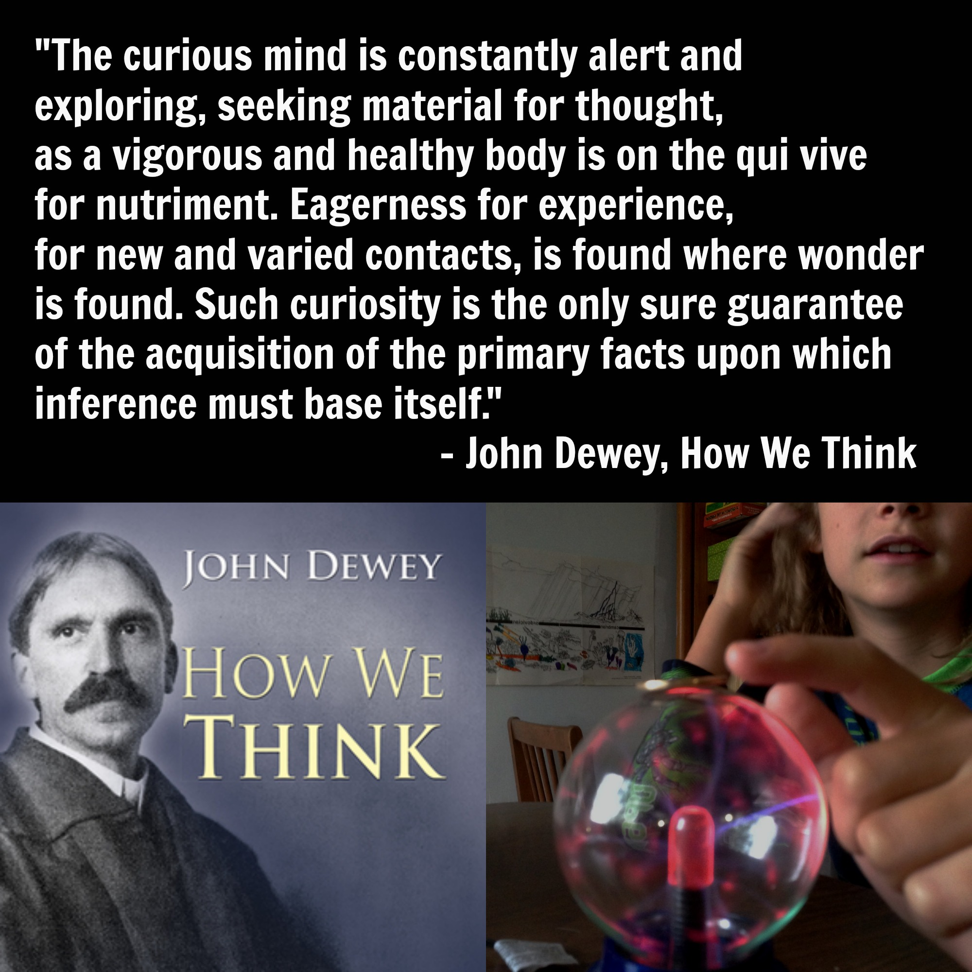 Curiosity Quotes Quote This John Dewey On The Curious Mind  Undogmatic Unschoolers